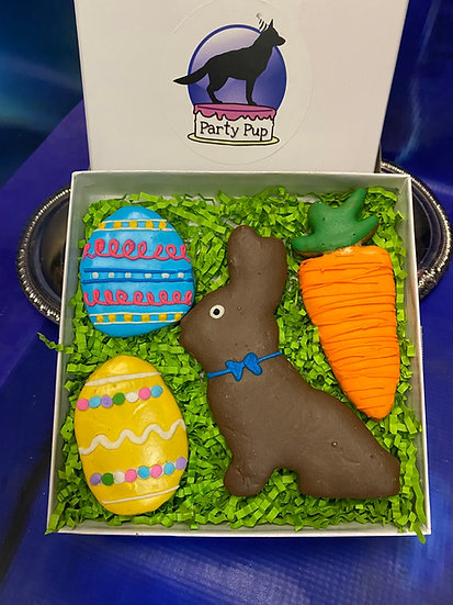 Chocolate bunny Easter box