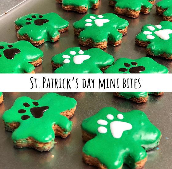 St Patrick's Day Mini bites