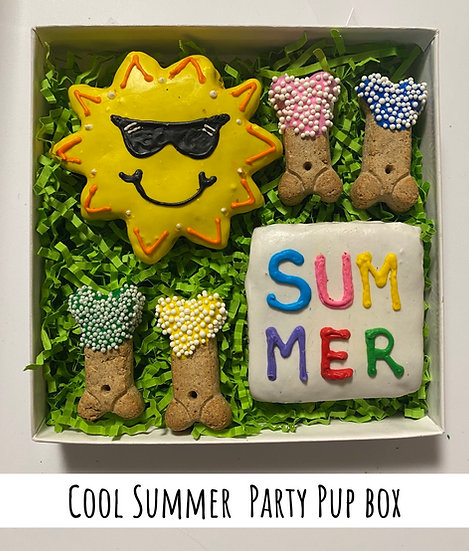 Cool Summer Party Pup Box