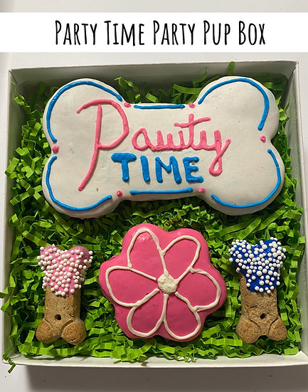 Pawty Time Party Pup Box