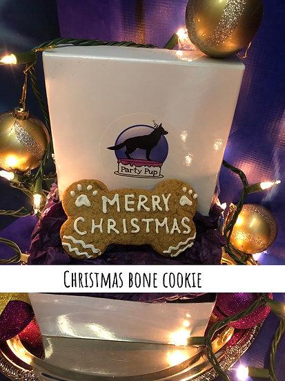 Christmas bone cookie