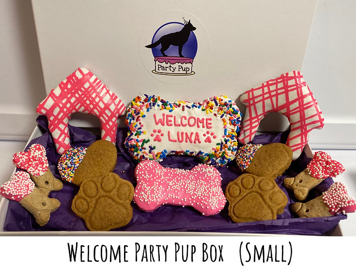 Welcome Party Pup Box (small)