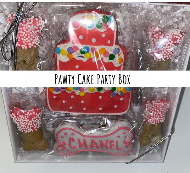 Party Cake Party Pup Box