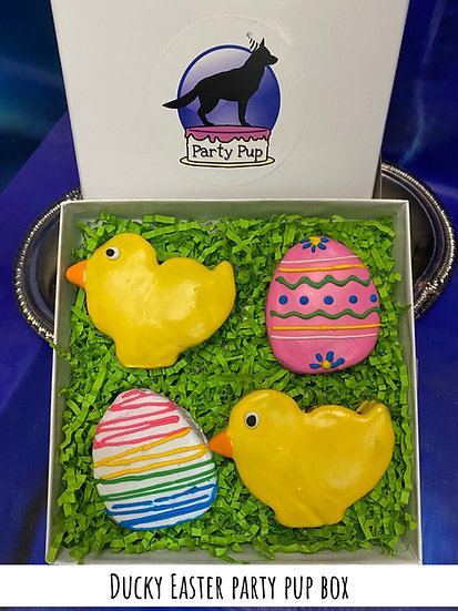 Ducky Easter box