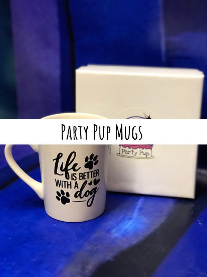Party Pup Mugs