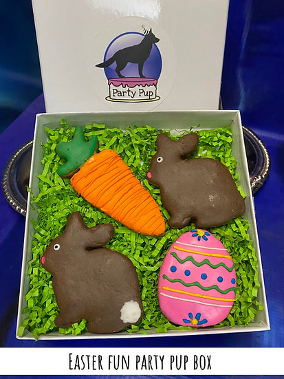 Easter fun party pup box