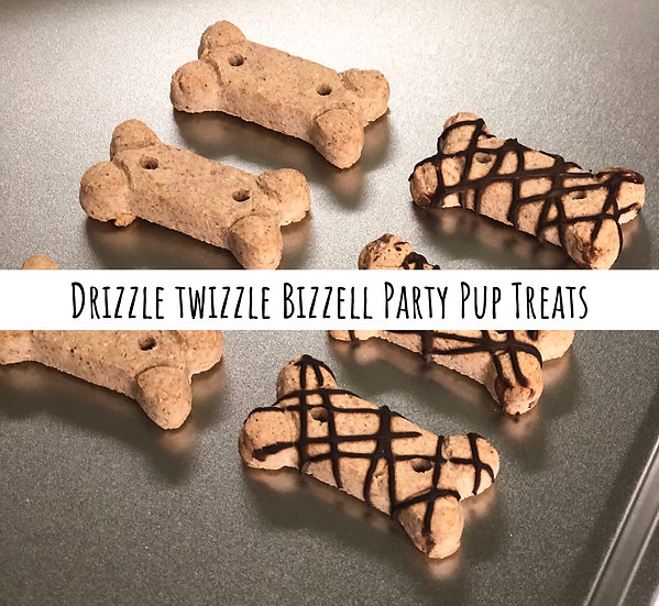 Drizzle Twizzle Bizzell Party Pup Treats