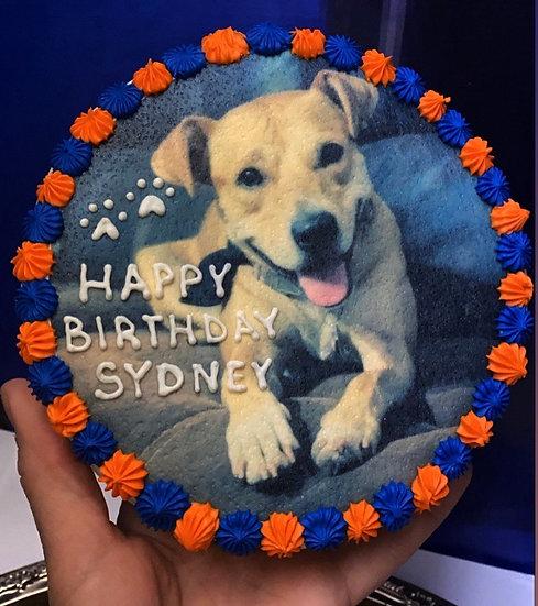 Pup Photo Cake