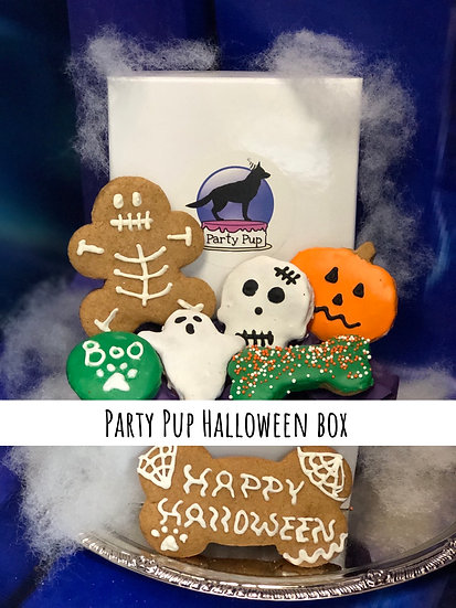 Party pup Halloween box