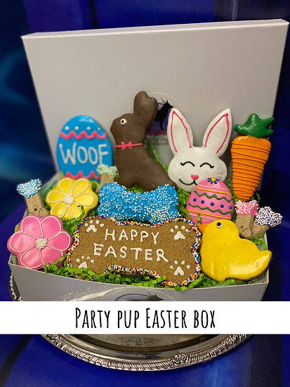 Party pup Easter box
