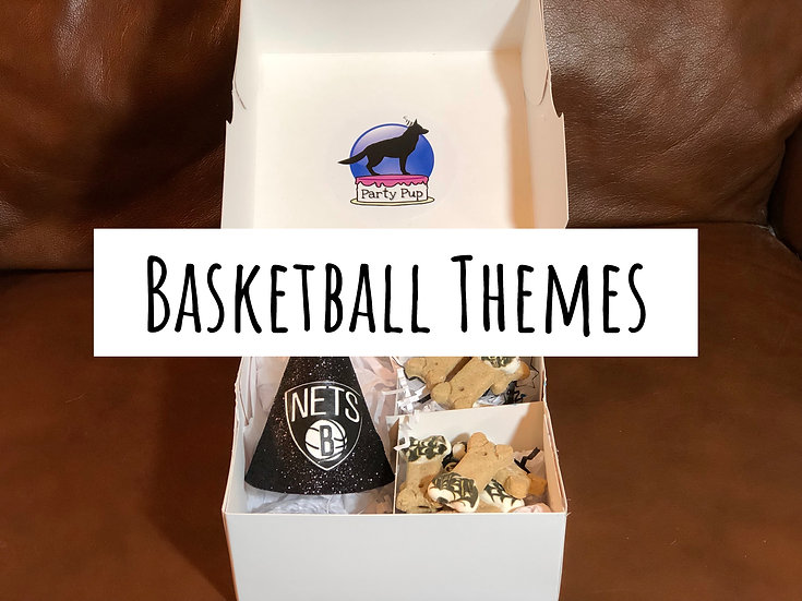 Basketball Theme Party Pup Box