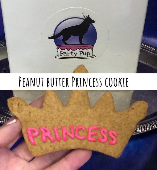 Peanut butter princess cookie