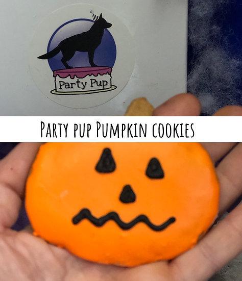 Party Pup Halloween Cookies