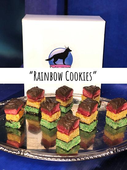 Rainbow Cookies (5-8 cookies) Desire cut
