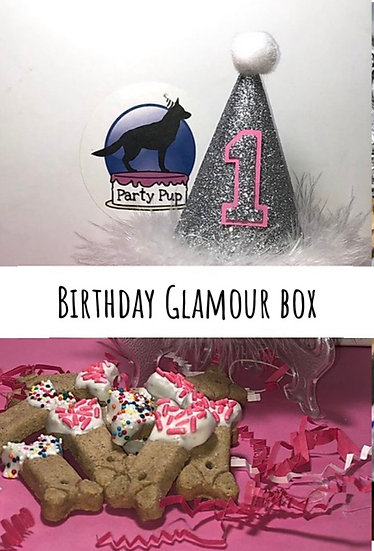 Party Pup Birthday Glamour Box