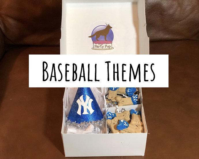 Baseball Theme Party Pup Box