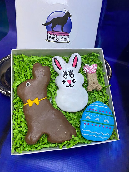 Happy bunnies Easter box