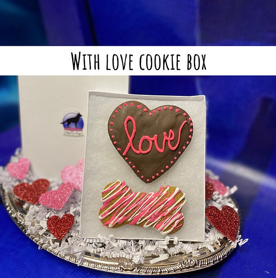 With Love cookie box