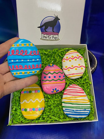 Easter Eggs Party Pup Box
