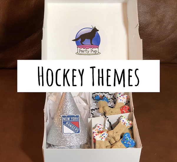 Hockey Theme Party Pup Box