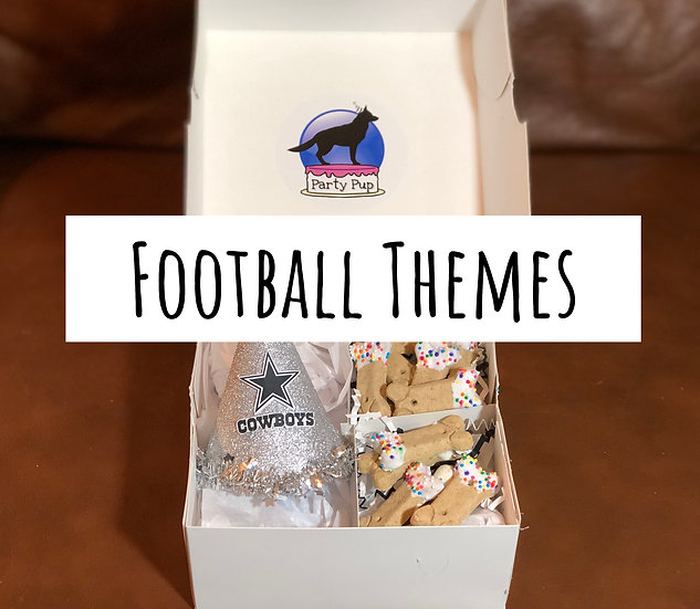 Football Theme Party Pup Box