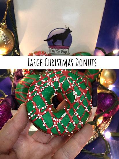Large Christmas Dounts