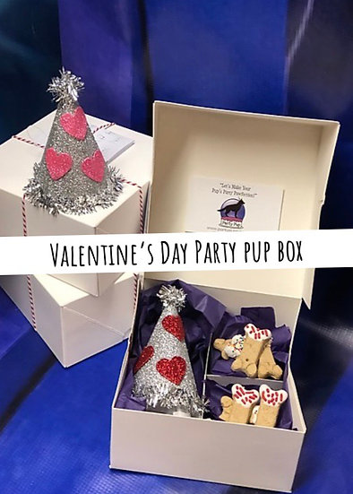 Valentine's Day Party Pup Box