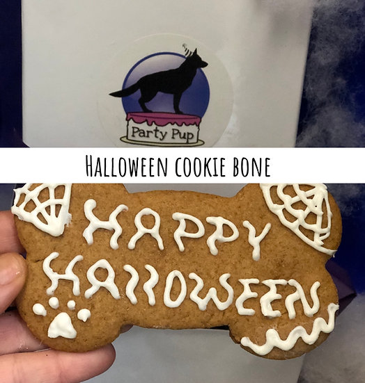 Halloween cookie Bone
