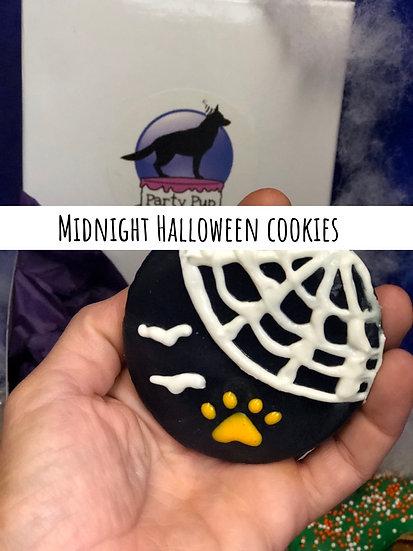 Midnight halloween cookies