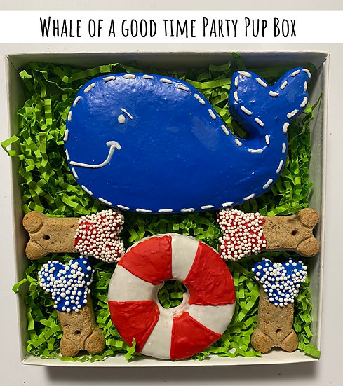 Whale Of A Good Time Party Pup Box