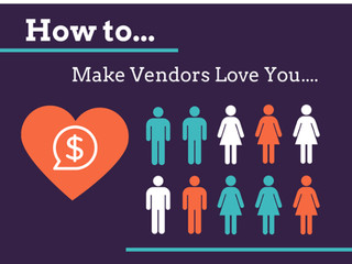 Are You Showing Your Vendors The Love?
