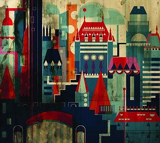 Ville de Quebec Illustration