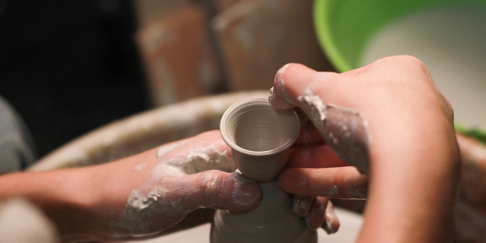 SATURDAY:  Youth Pottery Class ages 9-15      Beginning Sep. 19     $150