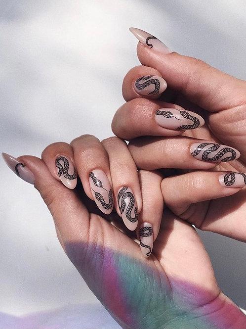 "Nail Decals ""Illusion"""