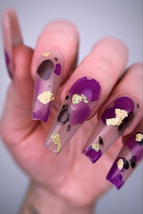 Purple Watercolour