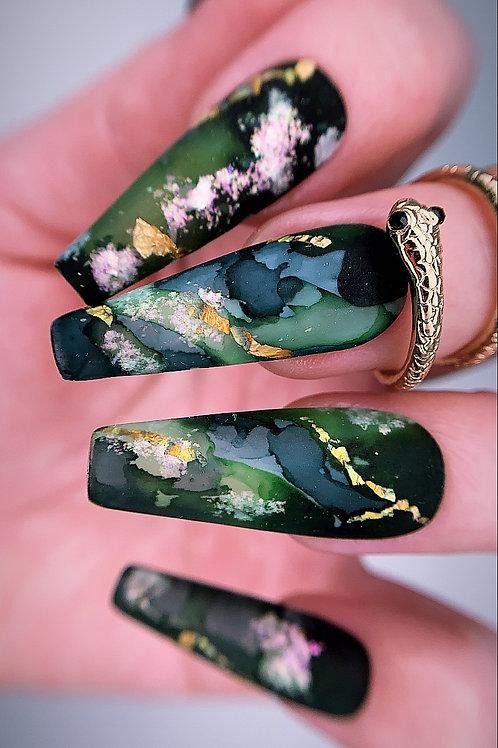 Matte Emerald Stone