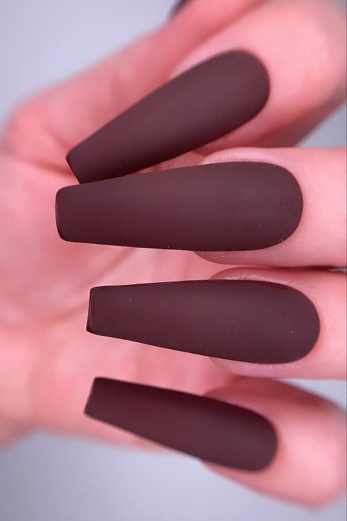 Matte Dark Chocolate