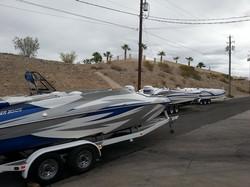 family of boats