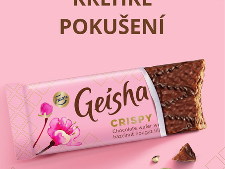 Křupni si s Geishou!