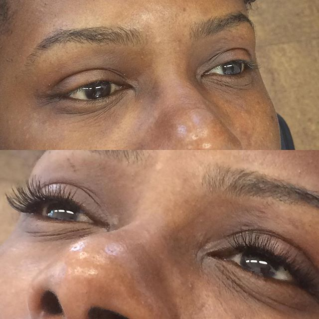 Cluster Lashes available at Dockerys Brow Bar! Only takes 15 minutes to apply!