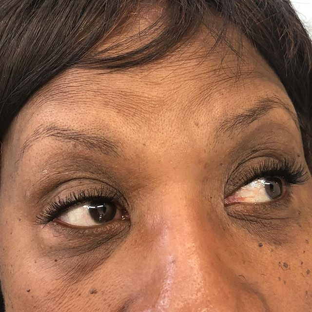 Our cluster lashes can be applied to suit mature clients as well!__Our cluster lashes are completely