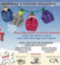 Donate new or gently used coats and help