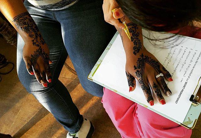 Henna available at Dockerys Brow bar