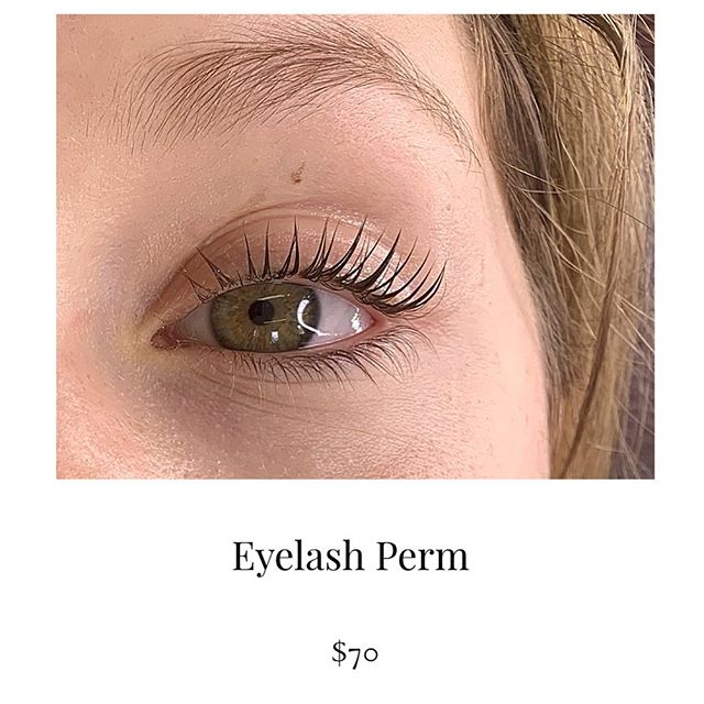 aftercare required!__Lash perms are a gr