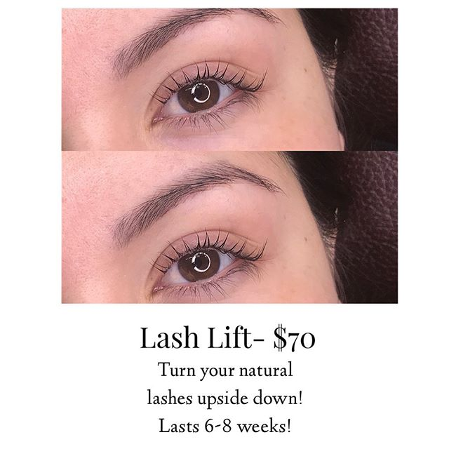Lash perms are a great alternative to Ey