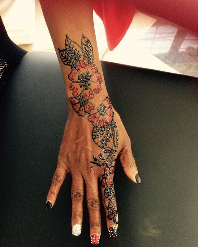 Henna done at Dockerys Brow bar _#njhenna #njhennaartist #bergencountyhenna