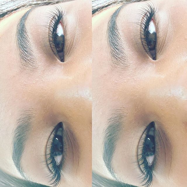 Individual Eyelash Extensions_Natural Set- $65_Style_ Cateye