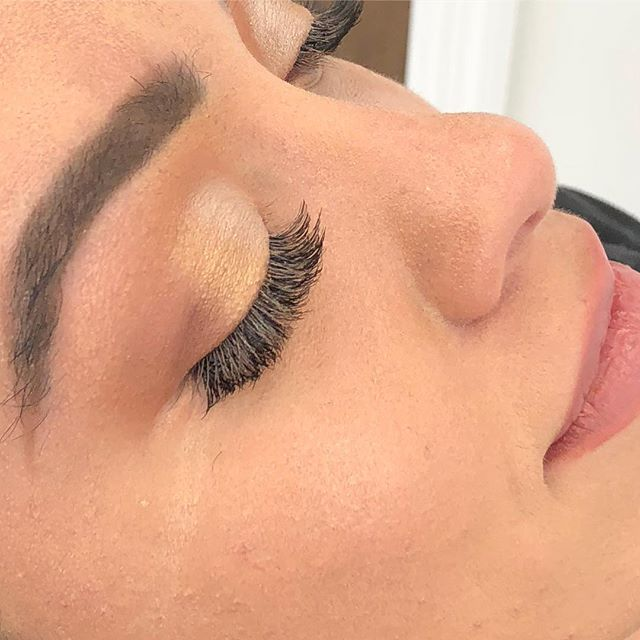 Cluster Lashes available at Dockerys Brow Bar