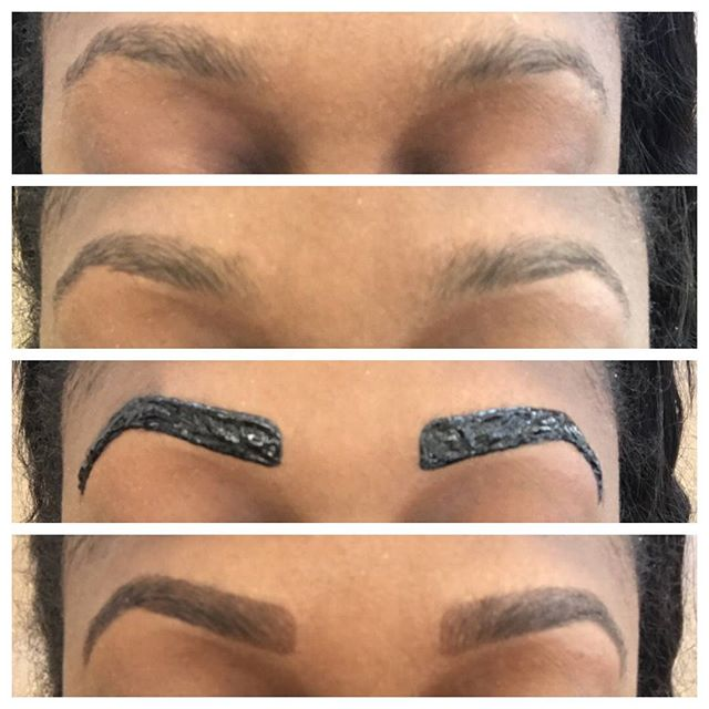 Brow Tinting available at Dockerys Brow Bar! #njbrowtinting #njeyebrowtinting #bergencountybrowtinti