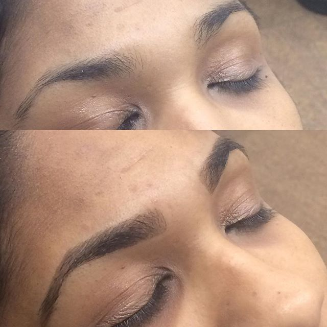 Brow Tinting - Sometimes you just need a little Brow Definition! _Tired of mediocre brows_ _Try our